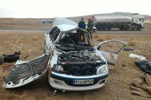 زوج جوان در سانحه جادهای جان باختند