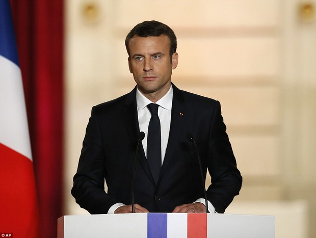 رئیسجمهور فرانسه: گفتوگو با روسیه، ایران و ترکیه بخشی از راه حل سوریه است