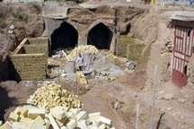 مرمت هفت اثر تاریخی در شهرستان مهریز آغاز شد