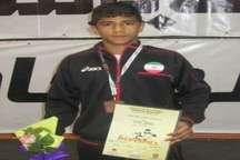 کشتی گیر نوجوان سیستان و بلوچستان در اردوی تیم ملی بسر می برد