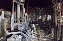 فوت پدر و پسر در آتش سوزی باغی در دوکوهک شیراز