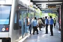 نقص فنی سرویس دهی قطارشهری مشهد را برای دقایقی مختل کرد