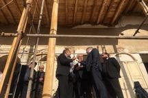 رئیس سازمان میراث فرهنگی از خانه تاریخی حشمت سرخه بازدید کرد