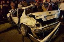 واژگونی خودرو در جنوب تهران 5 مصدوم برجای گذاشت
