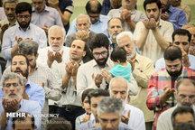 نماز عید قربان در مصلی تهران
