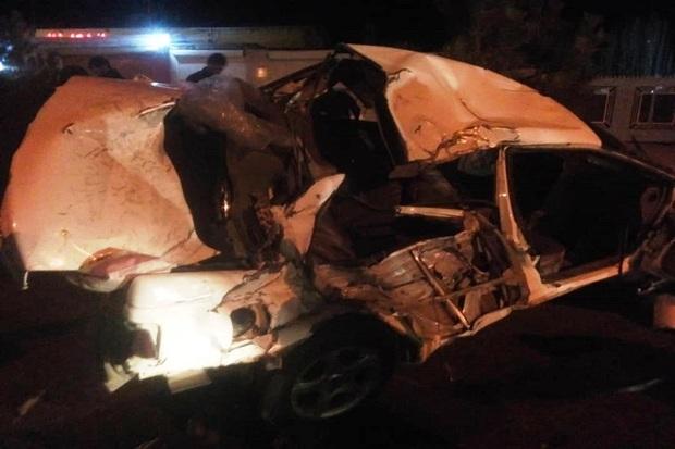 تصادف رانندگی در بوکان یک کشته و 2 زخمی برجا گذاشت