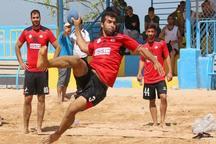 مسابقات هندبال ساحلی در بوشهر آغاز شد