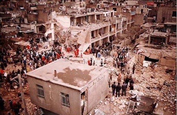 بمباران به وقت ساعت 12.30