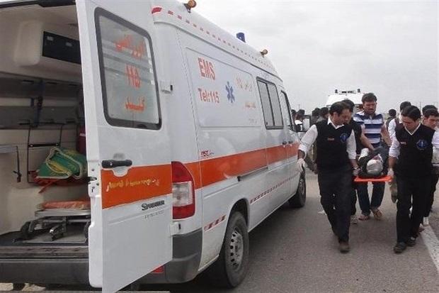 واژگونی خودرو در خوزستان پنج مصدوم برجا گذاشت
