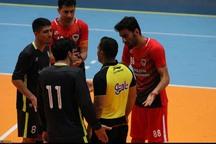 نتیجه دیدار تیم های شهرداری قزوین و شاهین کرمانشاه اعلام شد