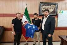 عباس بوعذار و موسی کولی بالی به جمع آبی پوشان خوزستانی پیوستند