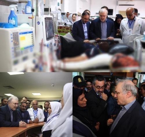 بازدید وزیر بهداشت از بیمارستان های غرب مازندران