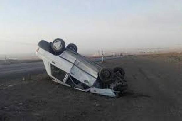 واژگونی خودرو در جوین یک کشته داشت