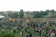 جشنواره بادبادکها در خرمدره برگزار شد