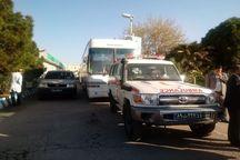 بیمارستان صحرایی حضرت فاطمه (س) کرمان به خوزستان اعزام شد