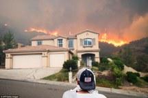 10 کشته در مرگبار ترین آتش سوزی کالیفرنیا+ اولین عکس مظنون اصلی
