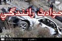 واژگونی سواری پژو با یک کشته و 3 مصدوم در جیرفت