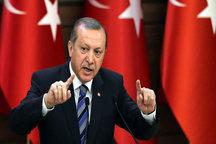 اتهام اردوغان علیه ایران مبنی بر گسترش ایرانیسم در منطقه