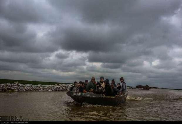 تلفات قایق غرق شده در سیل گمیشان به 6 نفر افزایش یافت