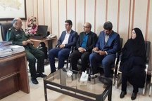 دیدار مدیرکل فرهنگ و ارشاد لرستان با سردار کشکولی