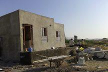64 واحد مسکونی در روستاهای محروم درمیان در دست ساخت است