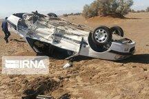 واژگونی خودرو در رستمآباد رودبار پنج مصدوم بر جا گذاشت