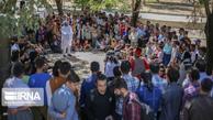 ثبت لحظات به یادماندنی استقبال تماشاگران جشنواره تئاتر خیابانی مریوان