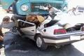 3 سرنشین پژو آر دی در تصادف با کامیون کشته شدند