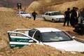 ترکیدگی لاستیک خودرو پلیس در جاده شهرکرد -  اردل 2 مصدوم برجا گذاشت