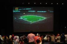 مسابقات فوتبال جام جهانی از سینمای روباز دیواندره پخش می شود