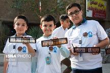 مسابقات استانی محاسبات ذهنی با چرتکه در بندرعباس برگزار شد