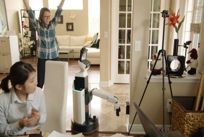 این ربات خانه را مرتب می کند+ فیلم