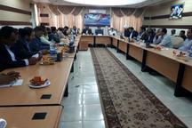 سفر مهمانان همایش سرمایه گذاری و توسعه پایدار سواحل مکران به جاسک