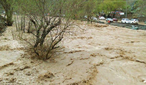 مدیریت بحران کردستان: مردم در بستر رودخانه ها اطراق نکنند
