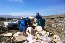 480 تن فراورده دامی در آذربایجان شرقی معدوم شد