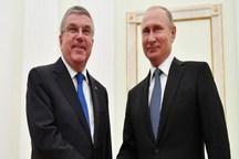 حضور باخ و پوتین در اختتامیه بازیهای اروپایی