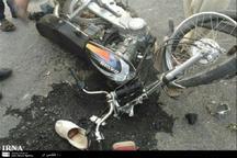 تصادف موتور سیکلت در پلدختر یک کشته برجا گذاشت
