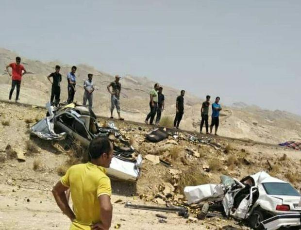 تصادف در جاده بوشهر- دیر ۴ قربانی گرفت