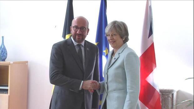 کاروان نخستوزیران انگلیس و بلژیک مورد حمله قرار گرفت