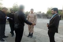 بازسازی صحنه قتل پارک جیرفت  با حضور بازپرس قضایی