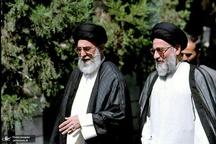 تصویری دیده نشده از مرحوم آیت الله هاشمی شاهرودی در کنار رهبر انقلاب