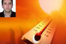 افزایش تدریجی 2 تا چهار درجه ای دمای هوای یزد