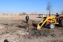 تخریب 9 کوره زغال گیری سنتی در آذرشهر