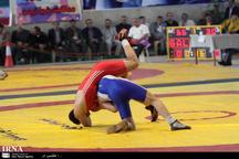 زنجان در جشنواره کشتی خردسالان هفت نشان کسب کرد