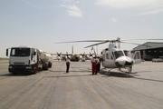 238 نشست و برخاست بالگرد امدادی در فرودگاه اهواز انجام شد