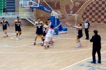 لیگ دسته اول کشور، پیروزی تیم بسکتبال گیلان برابر اراک