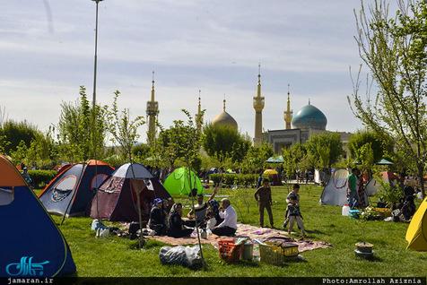 وضعیت آب و هوا در روز طبیعت/ کاهش بارش ها در تهران و البرز