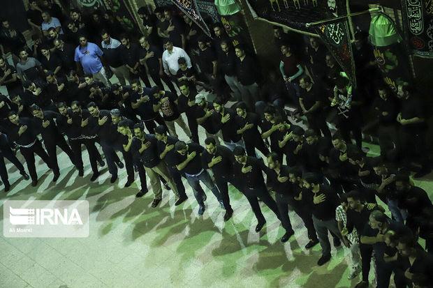 خوزستان در شب تاسوعا غرق در شور و شعور حسینی بود