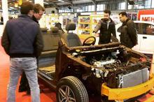 نمایشگاه تخصصی خودرو در اراک گشایش یافت