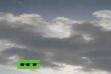 سقوط هواپیمای نظامی«C-۱۰۱» اسپانیایی در دریا